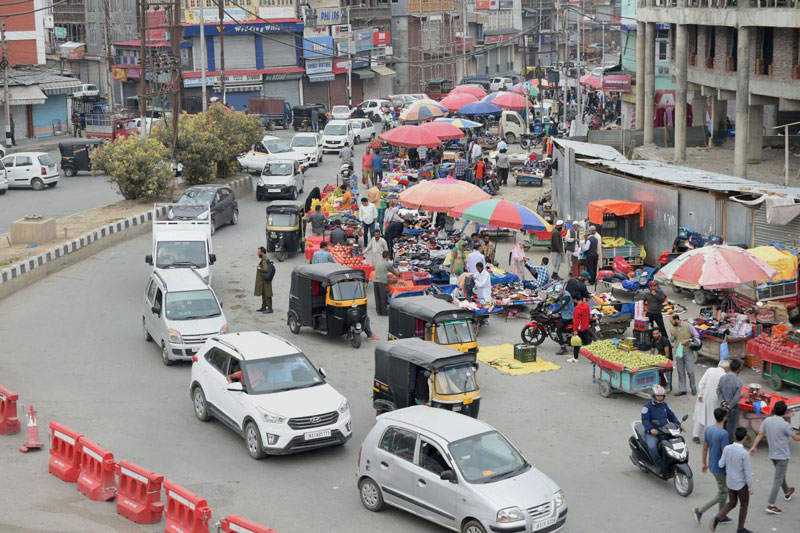 Kashmir Valley showed some signs of normalcy