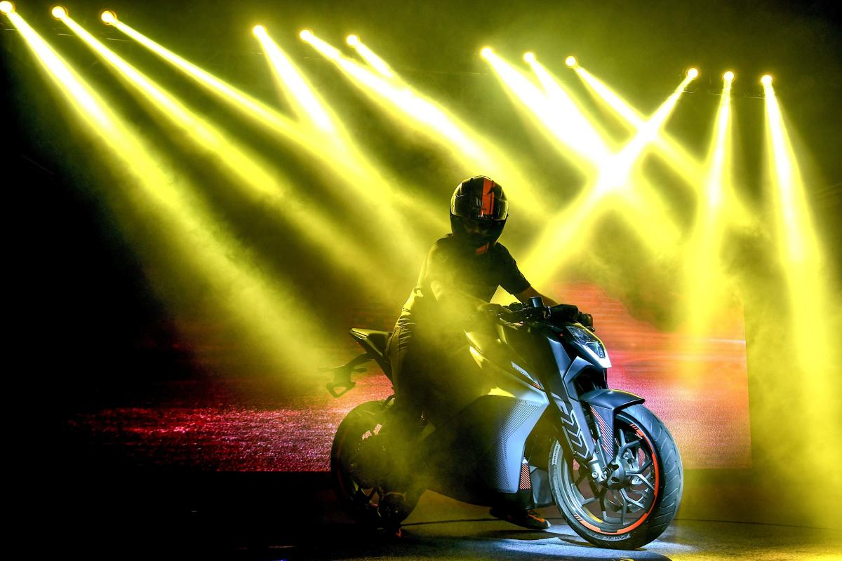Ultraviolette F77 Electric Motorcycle Unveiled TVS investment