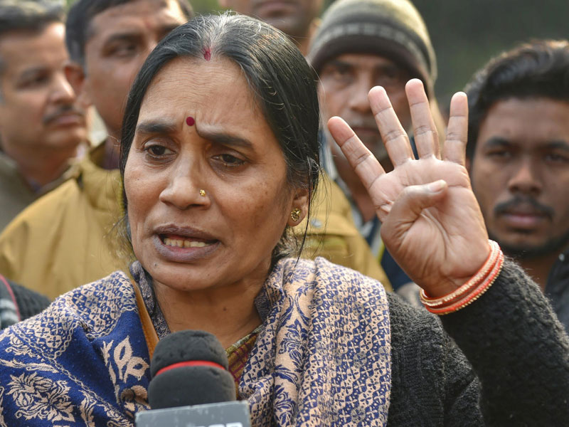 Nirbhaya's mother