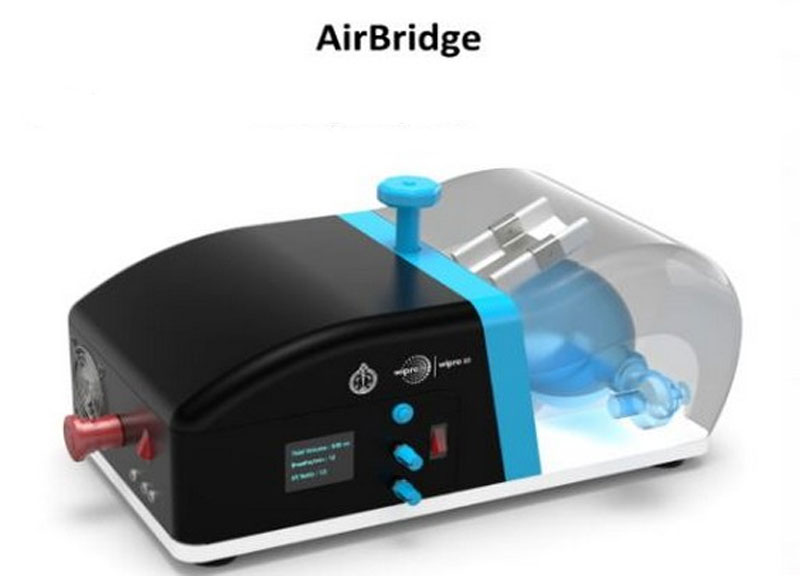 Kerala institute WIPRO develop emergency breathing system to assist ventilation