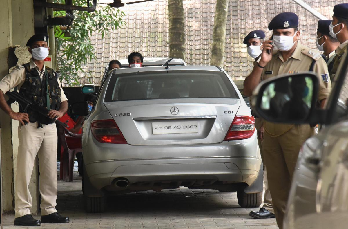Vehicle belonging to one of the main accused in Kerala gold smuggling case, Sandeep Nair, is seen at Customs office, in Kochi, Monday, July 13, 2020. (PTI)