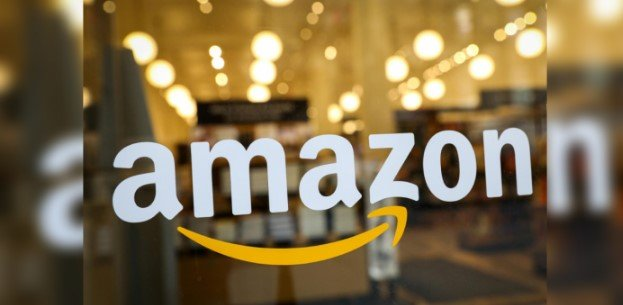 Amazon logo on the office. Credit: Reuters File Photo