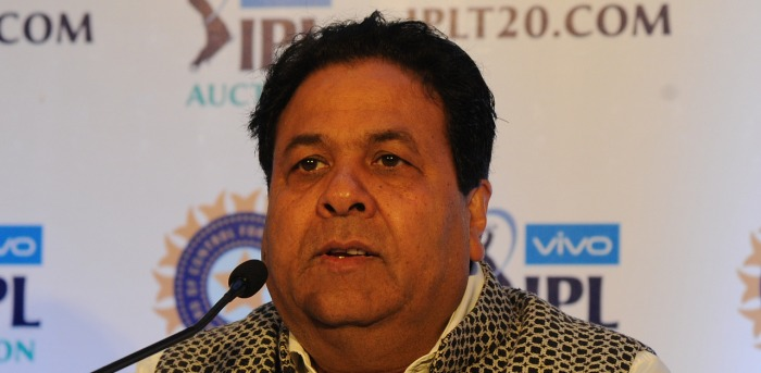 BCCI VP Rajeev Shukla. Credit: DH File Photo