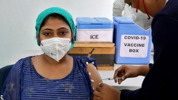 Covid19 vaccination Reuters image