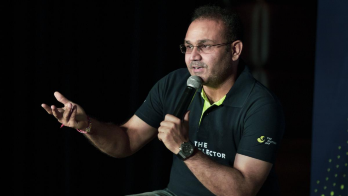 Former Indian cricketer Virender Sehwag. Credit: PTI Photo